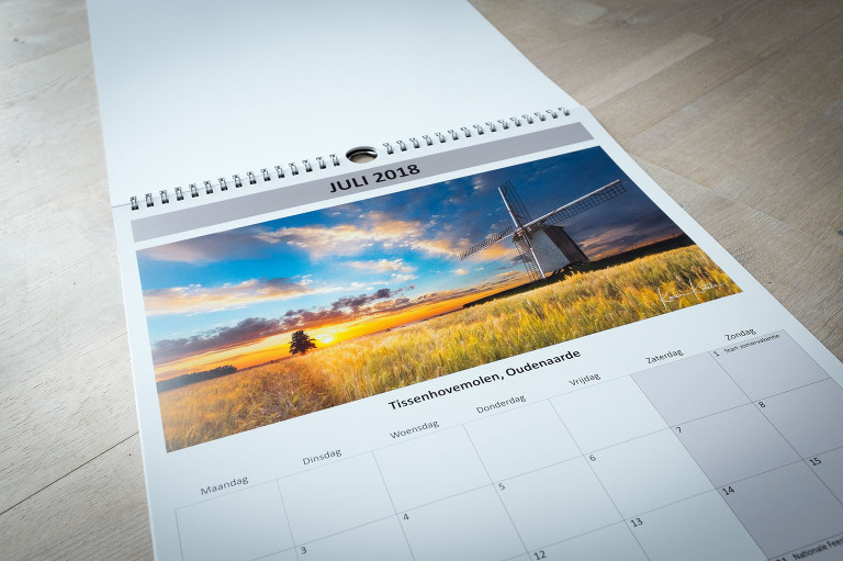 Kalender Vlaamse Ardennen door Karen Ketels